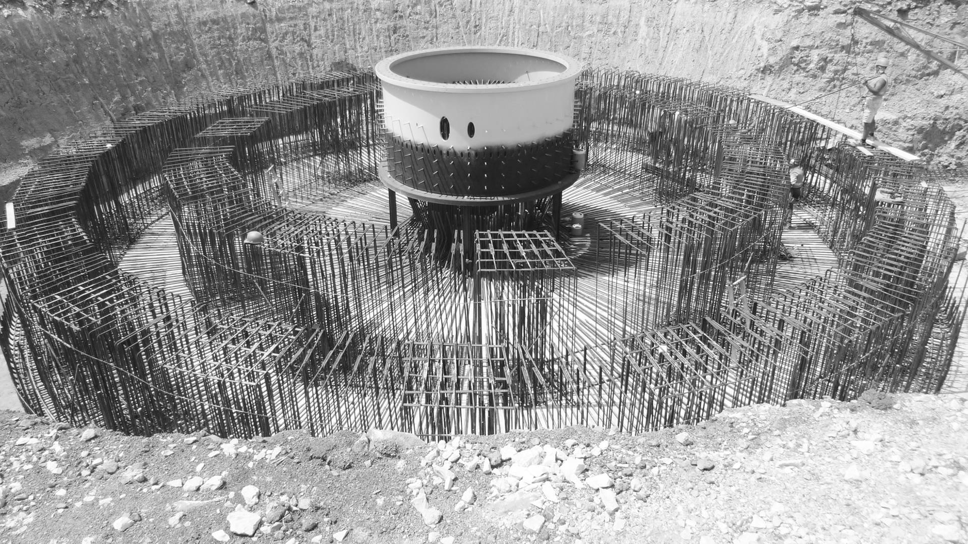 Progettazione Esecutiva Nuove Opere in Cemento Armato - Parco Eolico di LATERZA (TA) Italy