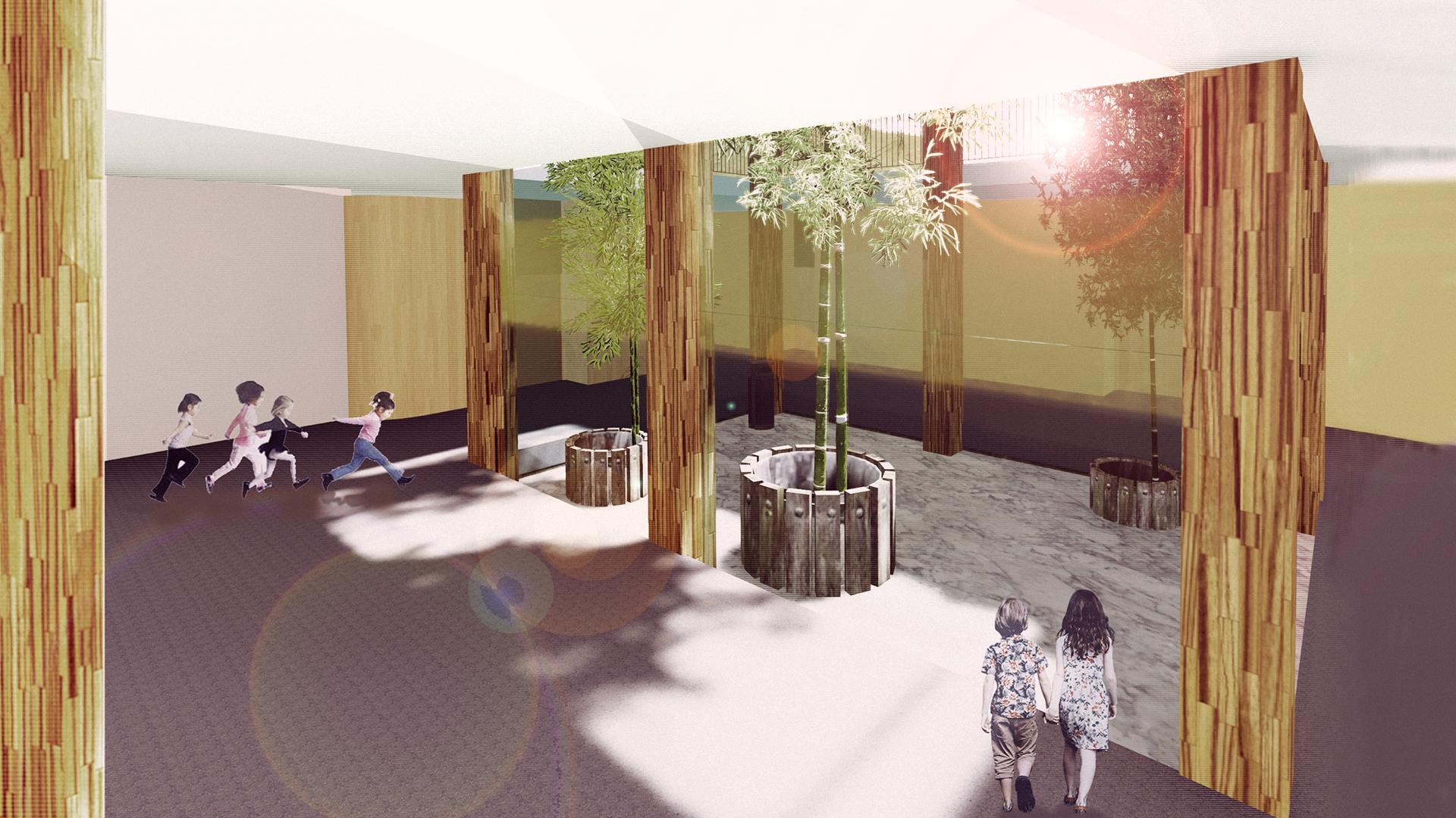 Progettazione definitiva di una nuova Scuola Primaria - LECCE Italy